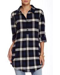 Dress Forum - Plaid Cotton Blouse - Lyst