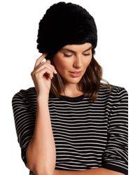 Joie - Winter Dyed Genuine Rabbit Fur Hat - Lyst