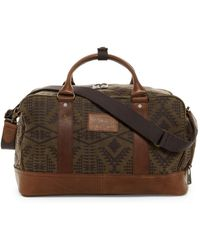 Pendleton - Leather Trimmed Carry On Duffle - Lyst