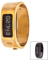 Garmin - Unisex Vivofit 2 Signature Bangle Fitness Watch - Lyst