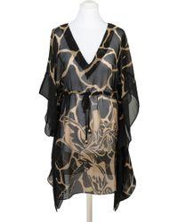 Pia Rossini - Gambia Animal Print Kaftan Dress - Lyst