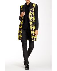 L.A.M.B. - Large Houndstooth Top Coat - Lyst