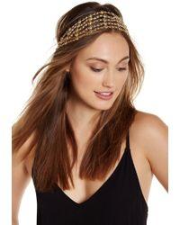 Noir Jewelry - Stretch Beaded Headband - Lyst