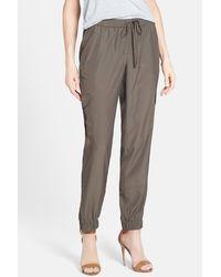 Halogen - Cargo Pocket Soft Woven Trousers - Lyst