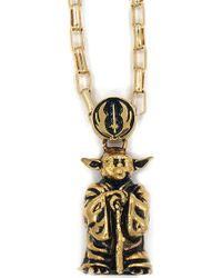 Han Cholo - Yoda Pendant Necklace - Lyst