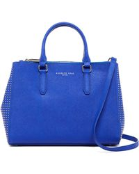 Kenneth Cole - Carton Street Leather Tote - Lyst