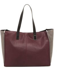 Kenneth Cole - Mercer Street Leather Tote - Lyst