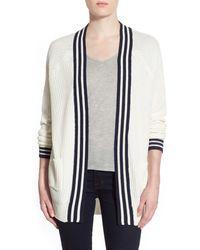 Trouvé - Stripe Front Cardigan - Lyst