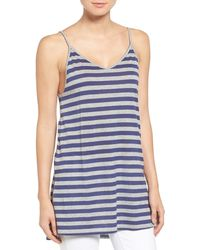 Stem - Stripe Slouch Camisole - Lyst