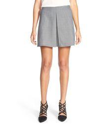 Chelsea28 Nordstrom - Jacquard Miniskirt - Lyst