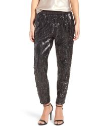 Trouvé - Shay Sequin Trousers - Lyst