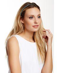 Cara - Metal Beaded Headband - Lyst