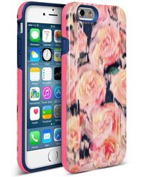 Nanette Lepore - Pink Rose Iphone 6/6s 2-piece Case - Lyst