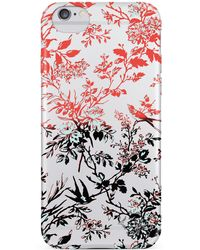 Nanette Lepore - Multicolor Botanical Iphone 6/6s Frosted Case - Lyst