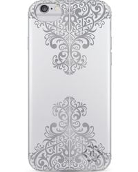 Nanette Lepore | Silver Metallic Lace Iphone 6/6s Case | Lyst