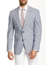 Ike Behar - Pandora Two Button Notch Lapel Wool Suit Separates Sport Coat - Lyst