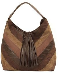Imoshion - V Patch Suede Hobo - Lyst
