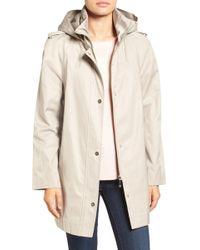 Ivanka Trump - Raincoat With Removable Hood - Lyst