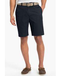 John W. Nordstrom - Supima(r) Cotton Flat Front Trouser Shorts - Lyst