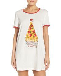 MINKPINK - 'oh Christmas Tree' Cotton Sleep Shirt - Lyst