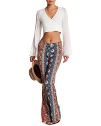 Billabong - Right Places Printed Flare Soft Pant - Lyst