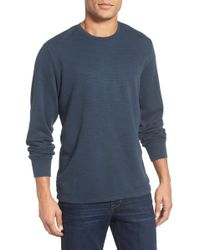 Jeremiah - Jason Slub Cotton Pullover Shirt - Lyst