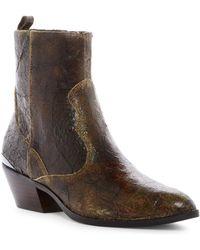 Donald J Pliner - Jessie Western Boot - Lyst