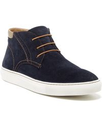 Joe's Jeans - Billy Suede High Top Trainer - Lyst