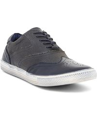 Joe's Jeans - Waves Burnished Leather Trainer - Lyst