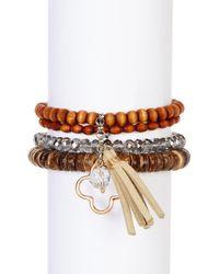 Joe Fresh - Multi Row Bracelet - Lyst