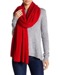 In Cashmere - Solid Cashmere Scarf - Lyst