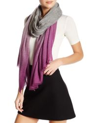 In Cashmere - Cashmere Ombre Scarf - Lyst