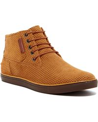 Joe's Jeans - Vespa Perforated High-top Trainer - Lyst