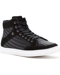 Joe's Jeans - Vegas Quilted High Top Trainer - Lyst