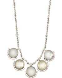 Lucky Brand - Stone Collar Necklace - Lyst