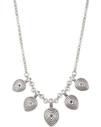 Lucky Brand - Leaf Necklace - Lyst