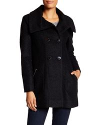 Jessica Simpson - Double Breasted Coat - Lyst