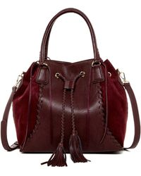Big Buddha - Bristow Tassel Draw Shoulder Bag - Lyst