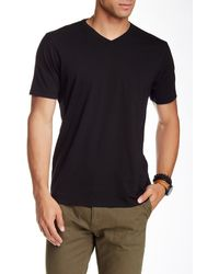 Agave - Supima Cotton Short Sleeve V-neck Tee - Lyst