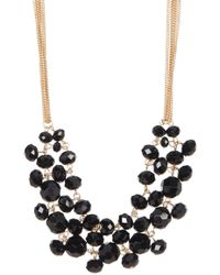 Kenneth Cole - Jet Bead Necklace - Lyst