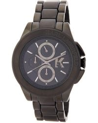 shop men s karl lagerfeld watches from 125 lyst karl lagerfeld men s energy chronograph bracelet watch lyst