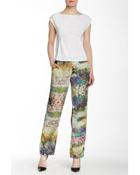 Lavand - Printed Trouser - Lyst