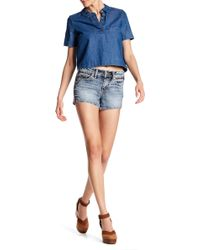Silver Jeans Co. - Aiko Mid Short - Lyst
