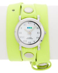 La Mer Collections - Women's Circle Triple Wrap Watch - Lyst