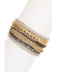 Lauren by Ralph Lauren - Multi-chain Bracelet - Lyst