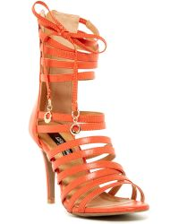 Elegant Footwear Lilly Strappy Sandal