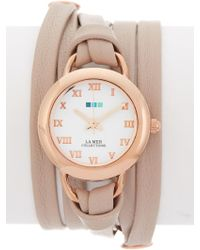 La Mer Collections - Women's Rose Gold Saturn Watch - Lyst