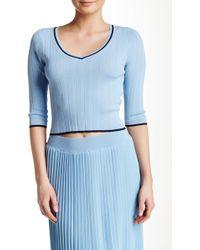Lucy Paris - Birkin Sweater Top - Lyst