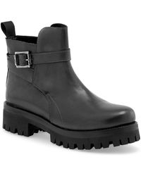 Liebeskind Berlin - Split Buckle Platform Ankle Boot - Lyst