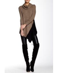 Love Token - Jackie Colorblock Asymmetric Sweater - Lyst
